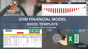 Gym Business Financial Model Template - Someka Excel Template Video