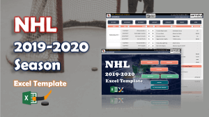 NHL 2019 Excel Template - Someka Excel Template Video