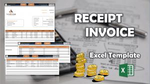 Receipt Template - Someka Excel Template Video