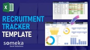 Recruitment Excel Template - Someka Excel Template Video