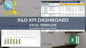 Research and Development KPI Dashboard - Someka Excel Template Video