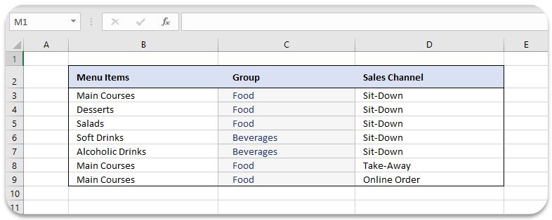 menu-items-in-excel-2