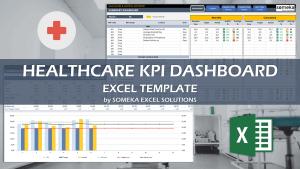 Healthcare KPI Dashboard - Someka Excel Template Video