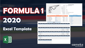 Excel Formula 1 Championship Tracker - Someka Excel Template Video