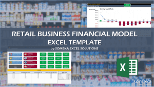 Retail Business Financial Template - Someka Excel Template Video