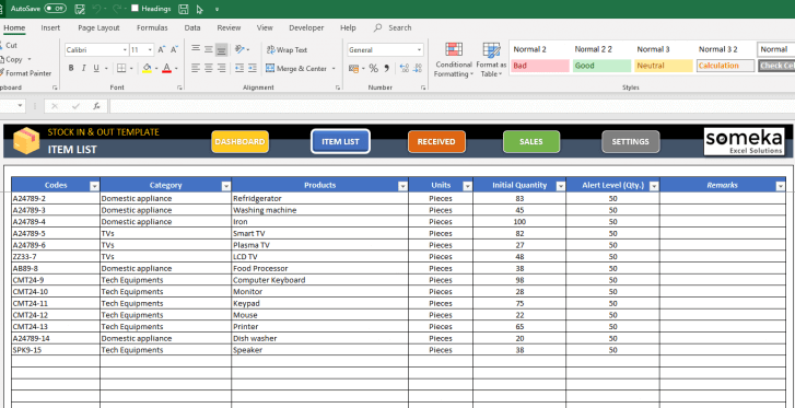 Stock-Inventory-Tracker-Excel-Template-Someka-SS3