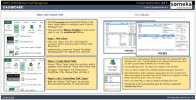 Client Task Management Template