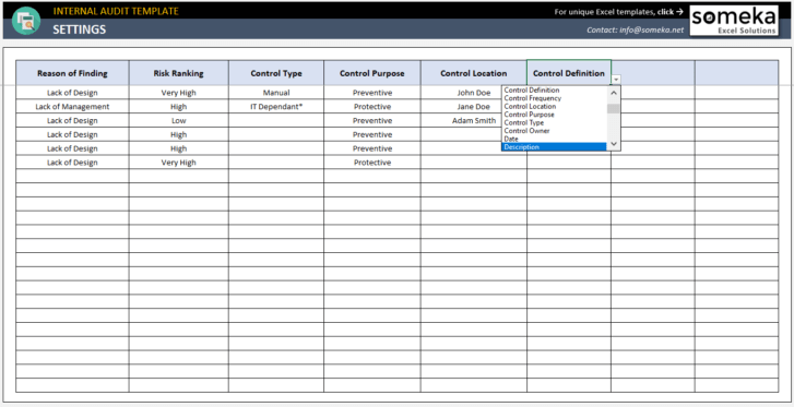 Internal-Audit-Excel-Template-Someka-SS7