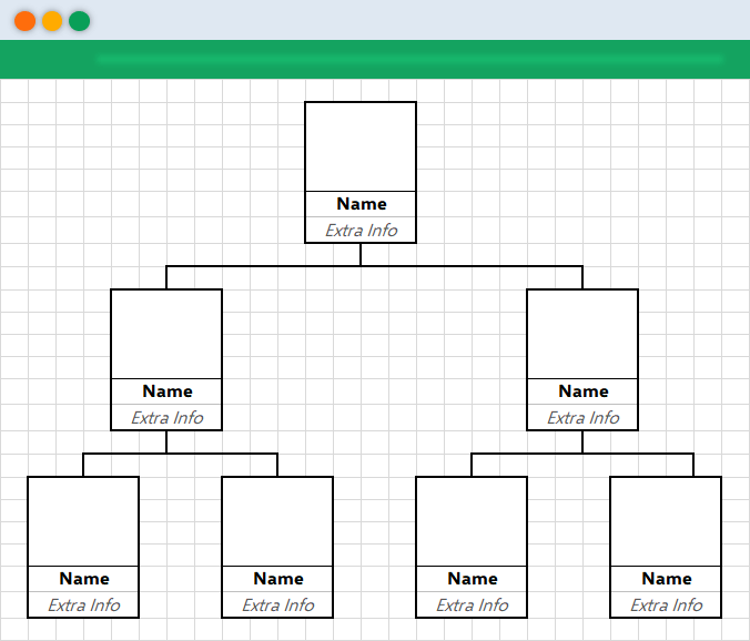 outline-family-chart-in-excel