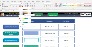 Color-Palette-Generator-Excel-Template-Someka-SS2