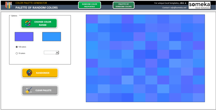 Color-Palette-Generator-Excel-Template-Someka-SS4