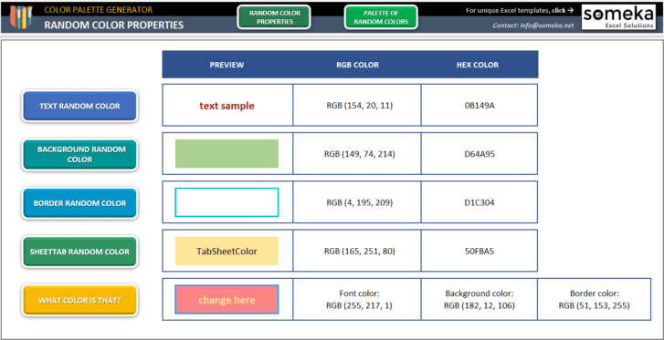 Color-Palette-Generator-Excel-Template-Someka-SS7