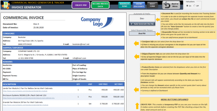 Commercial-Invoice-Tool-Excel-Template-Someka-SS2
