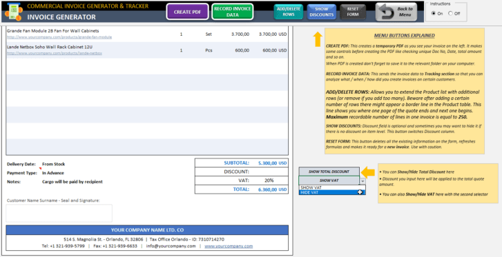 Commercial-Invoice-Tool-Excel-Template-Someka-SS3