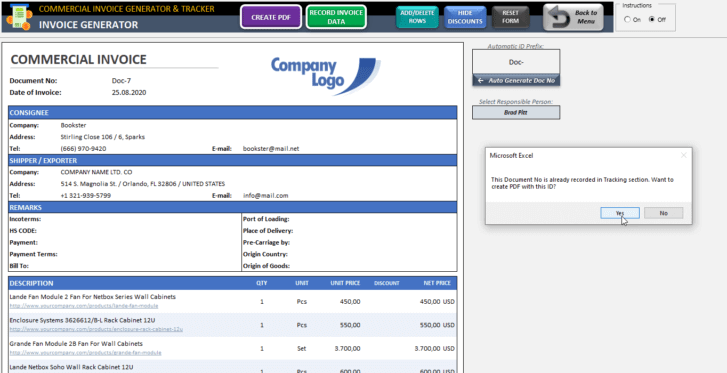 Commercial-Invoice-Tool-Excel-Template-Someka-SS6
