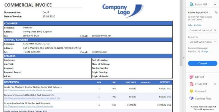 Commercial-Invoice-Tool-Excel-Template-Someka-SS7
