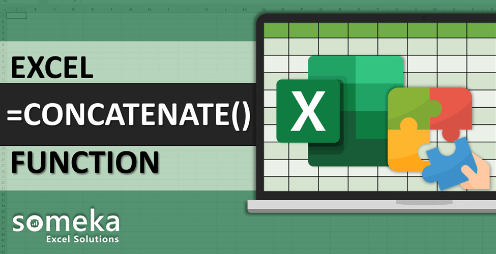 How To Use Excel CONCATENATE Function