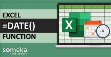 How To Use Excel DAY MONTH YEAR DATE Functions