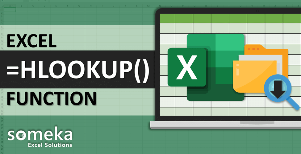 How To Use Excel HLOOKUP Function