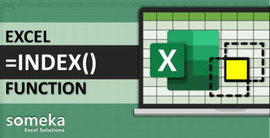 How To Use Excel INDEX Function