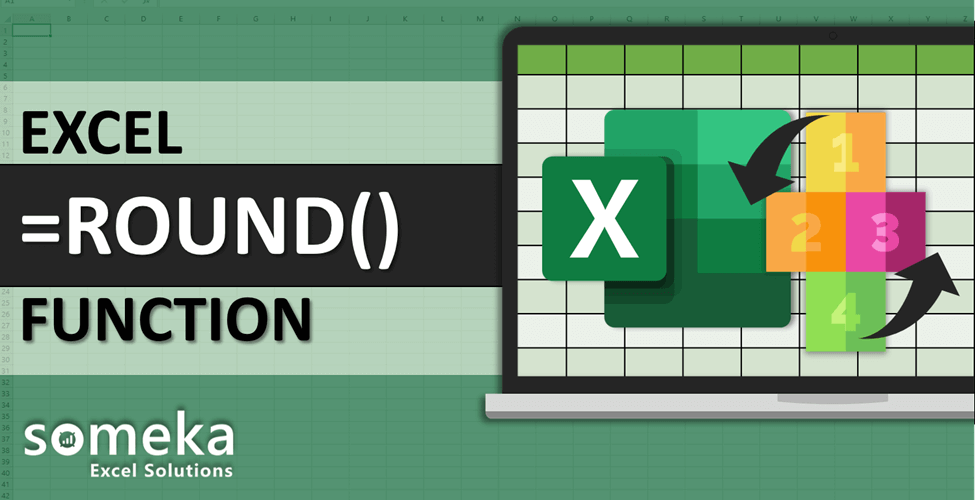 How To Use Excel ROUND ROUNDUP ROUNDDOWN Functions