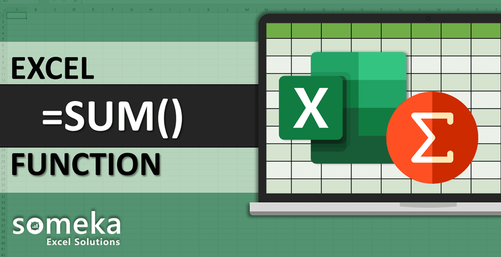 How To Use Excel SUM Function