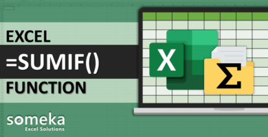 How To Use Excel SUMIF Function
