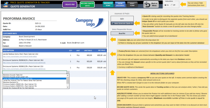 Price-Quote-Tool-Excel-Template-Someka-SS2