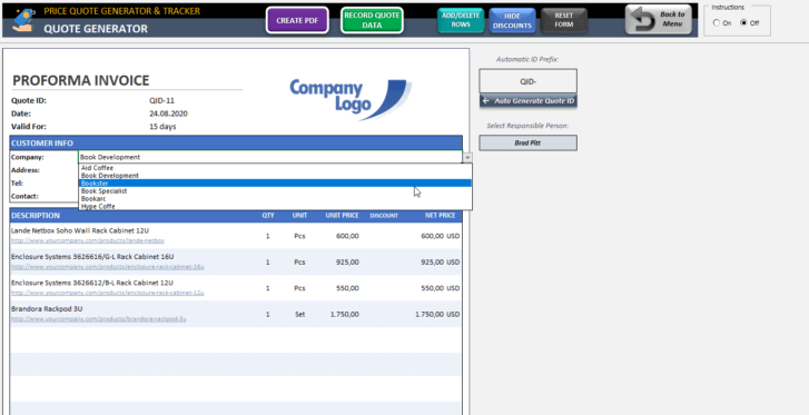 Price-Quote-Tool-Excel-Template-Someka-SS9