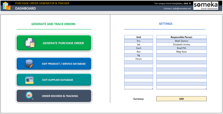 Purchase-Order-Tool-Excel-Template-Someka-SS1