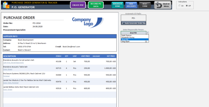 Purchase-Order-Tool-Excel-Template-Someka-SS5