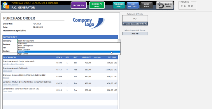 Purchase-Order-Tool-Excel-Template-Someka-SS6