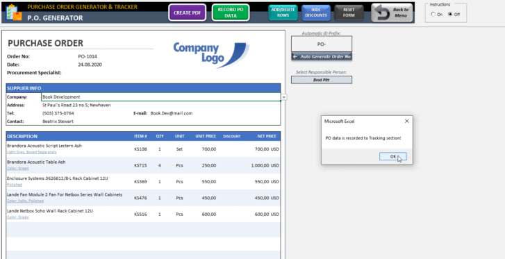 Purchase-Order-Tool-Excel-Template-Someka-SS8