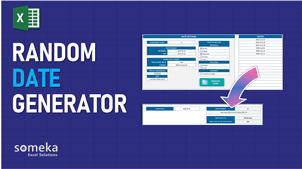 Random Date Generator Template - Someka Excel Template Video