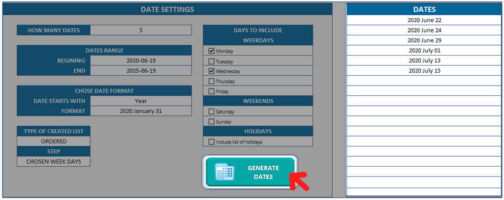 Random-Date-Generator-Excel-Template-Someka-S01