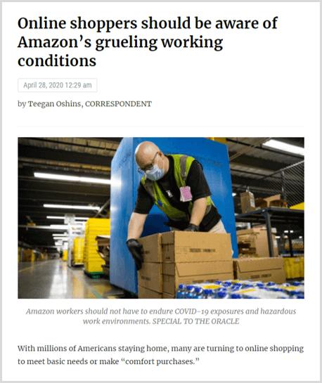amazon-swot-analysis-working-conditions