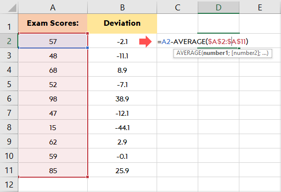 how-to-calculate-standard-deviation-in-excel-manually