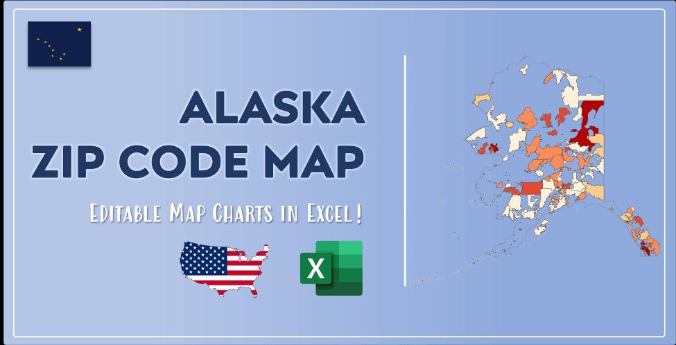 Alaska Zip Code Map Post Cover