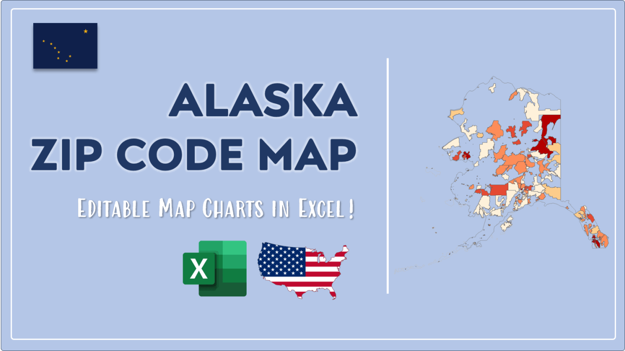 How to Paint Alaska Zip Codes Map Video Cover Image