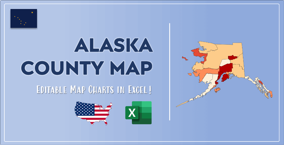 Alaska County Map Post Cover