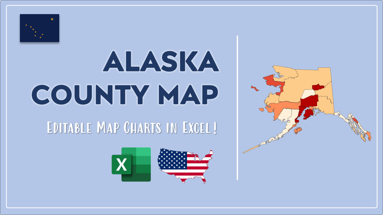 How to Paint Alaska Counties Map Video Cover Image