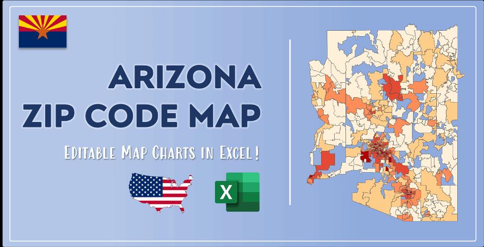 Arizona Zip Code Map Post Cover