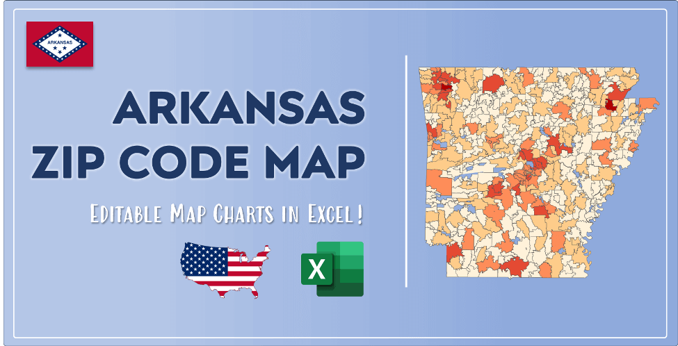 Arkansas Zip Code Map Post Cover