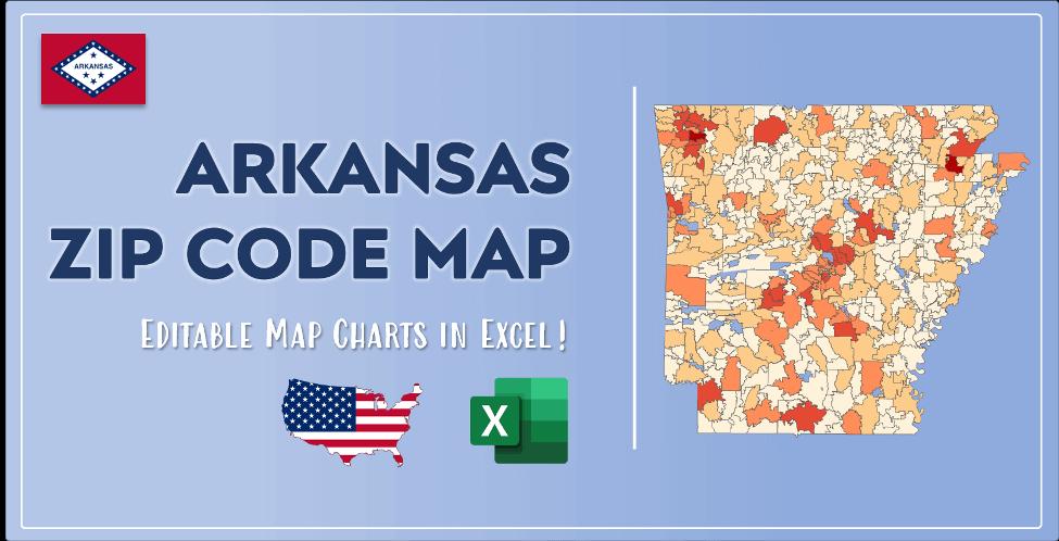 Arkansas Zip Code Map Post Cover