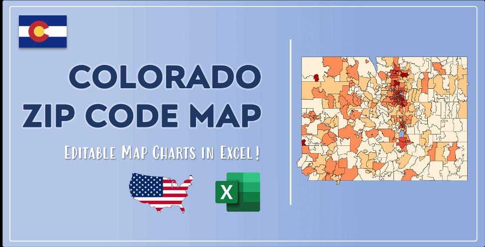 Colorado Zip Code Map Post Cover