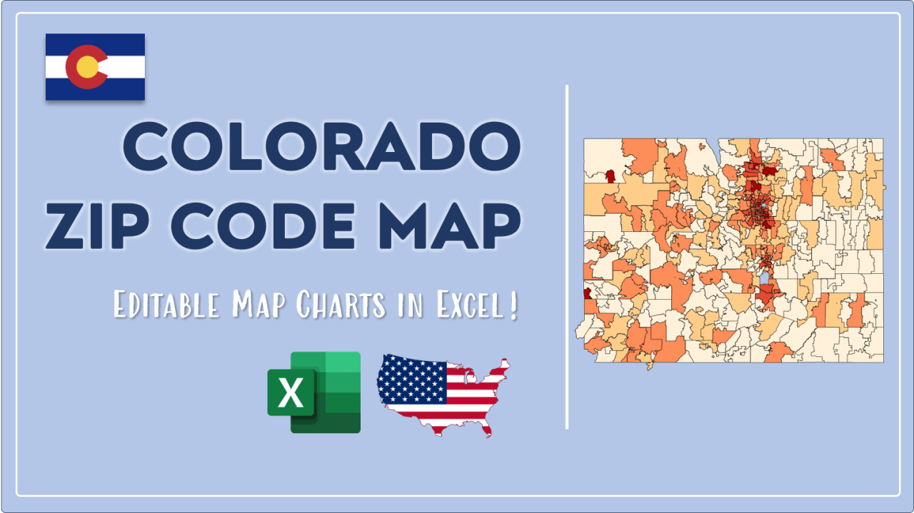 How to Paint Colorado Zip Codes Map Video Cover Image
