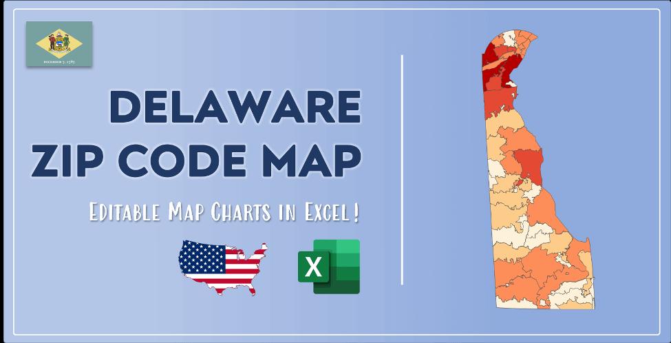 Delaware Zip Code Map Post Cover