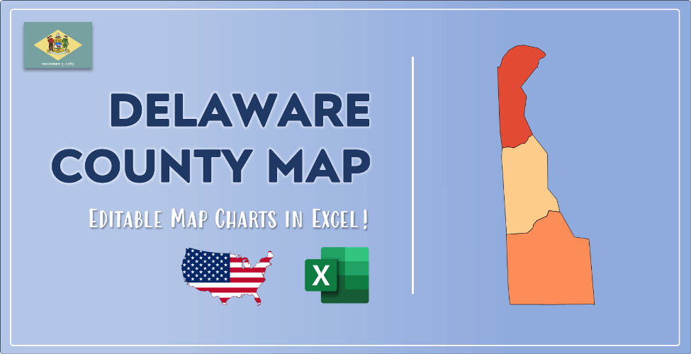Delaware County Map Post Cover