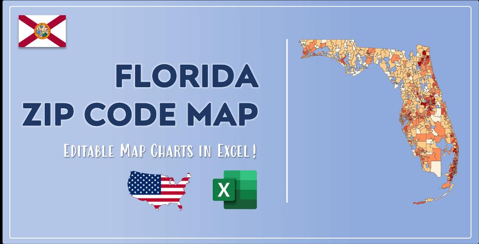 Florida Zip Code Map Post Cover