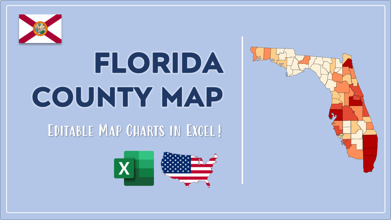 How to Paint Florida Counties Map Video Cover Image